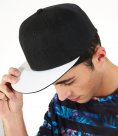 Beechfield Sublimation Peak Snapback Cap