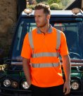 Warrior Daytona Hi-Vis Polo Shirt