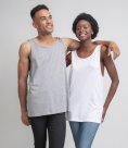 One by Mantis Unisex Drop Armhole Vest Top