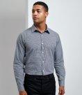 Premier Long Sleeve Microcheck Shirt