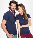 SOL'S Ladies Patriot Cotton Pique Polo Shirt