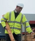 Result Safe-Guard Lightweight Motorway Hi-Vis Safety Jacket