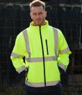 Dickies Hi-Vis Two-Tone Soft Shell Jacket