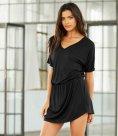 Bella Flowy V Neck Dress