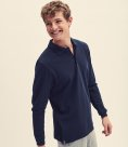 Fruit of the Loom Premium Long Sleeve Cotton Pique Polo Shirt