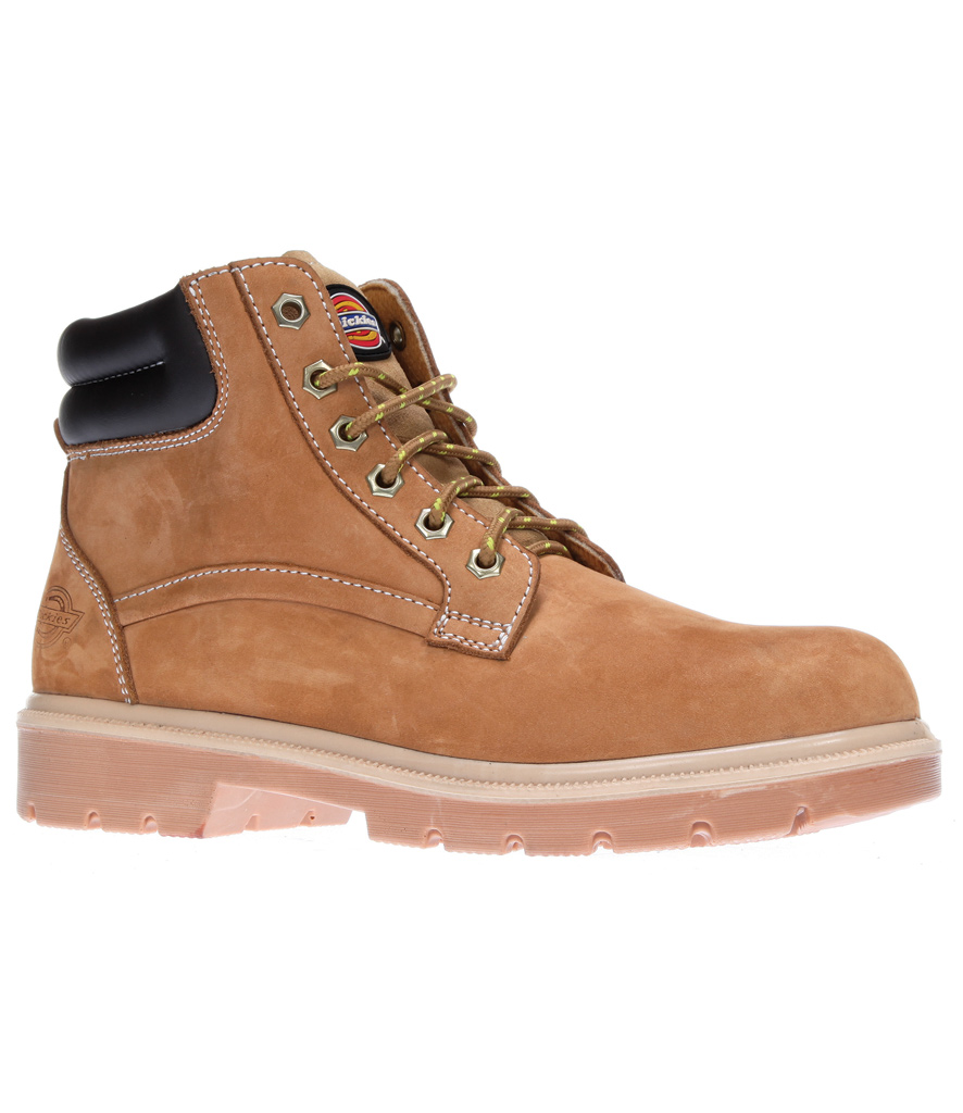 Dickies - S1P Donegal Boots -Steel Toe Cap & Mid-sole - Breathable Textile
