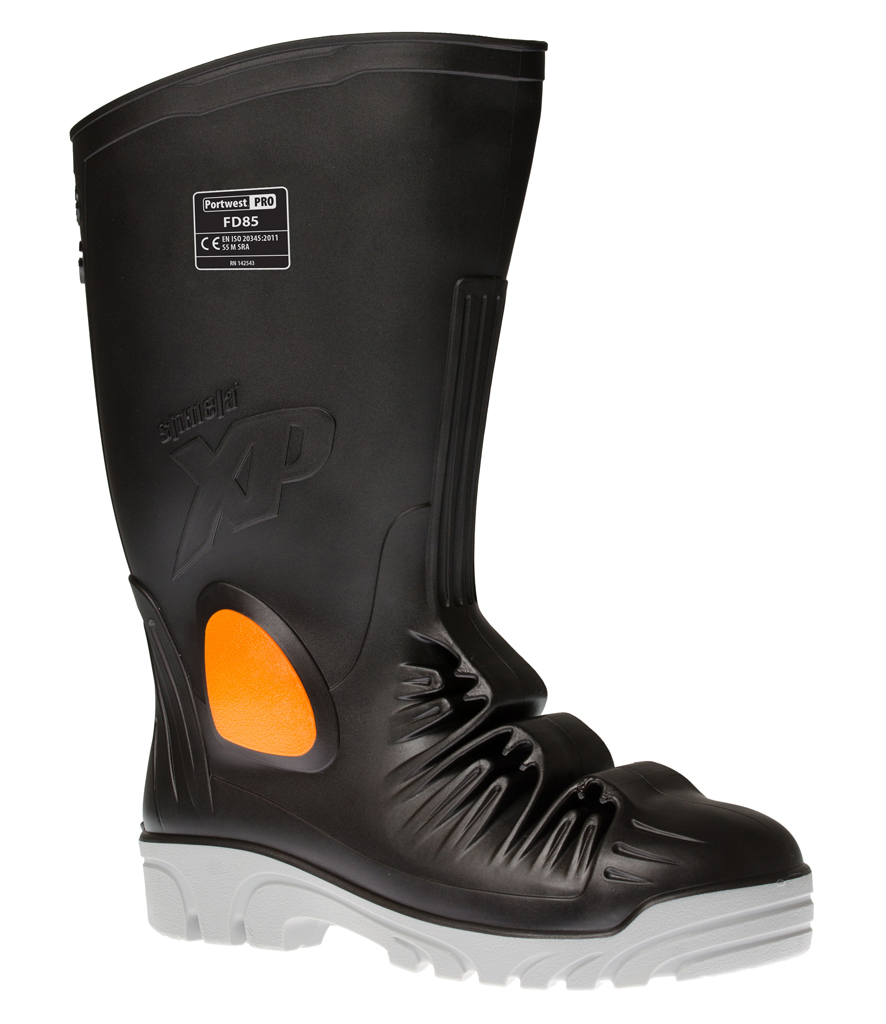 Portwest Metatarsal Safety Wellington Black Boots Multi Size FD85 Black Wellington Men S5 ecef8d