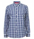 Front Row Ladies Long Sleeve Checked Cotton Shirt