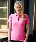 Anvil Ladies Cotton Double Piqué Polo Shirt