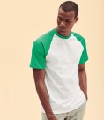 Fruit of the Loom Contrast Baseball T-Shirt