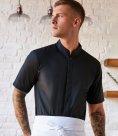 Kustom Kit Bargear® Short Sleeve Mandarin Collar Shirt