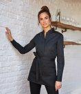 Kustom Kit Bargear® Ladies Long Sleeve Mandarin Collar Shirt