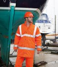 Result Core Hi-Vis Motorway Coat