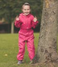 Trespass Kids Button Rain Suit