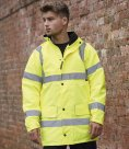Warrior Nevada Hi-Vis Jacket