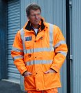 Yoko Hi-Vis Multi Function 7-in-1 Jacket