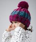 Beechfield Infant Corkscrew Pom Pom Beanie
