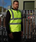 Warrior Phoenix Hi-Vis Bodywarmer