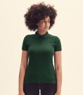 Fruit of the Loom Lady-Fit Premium Cotton Piqué Polo Shirt