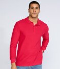 Gildan Long Sleeve Premium Cotton® Double Piqué Polo Shirt