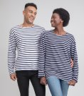 One By Mantis Long Sleeve Breton Stripe T-Shirt