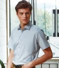 Premier Short Sleeve Stretch Fit Poplin Shirt