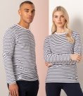 SF Unisex Long Sleeve Striped T-Shirt