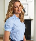 Brook Taverner Ladies Paduli Short Sleeve Poplin Shirt