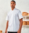 Premier Essential Short Sleeve Chef's Jacket