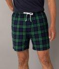 SF Men Tartan Lounge Shorts