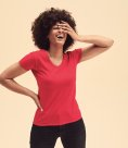 Fruit of the Loom Lady Fit Value V Neck T-Shirt