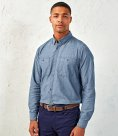 Premier Organic Fairtrade Certified Long Sleeve Chambray Shirt