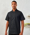 Premier Coolchecker® Short Sleeve Chef's Jacket