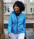 Regatta Ladies Venturer Three Layer Hooded Soft Shell Jacket