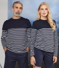Front Row Unisex Long Sleeve Breton Striped T-Shirt