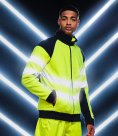 Regatta High Visibility Pro Contrast Fleece Jacket