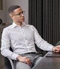 Tee Jays Luxury Slim Fit Long Sleeve Oxford Shirt