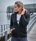 Tee Jays Ladies Knitted Outdoor Fleece Jacket