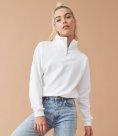 AWDis Ladies Cropped 1/4 Zip Sweatshirt